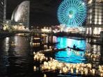 『YOKOHAMA save the water プロジェクト 地域活性化を目的とした市民参加型イベント 「横浜ウォーターキャンドル」』