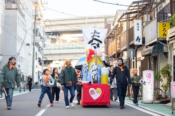 寿町で子どもたちと山車まつりをしたいっ